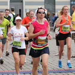24. Nordea Riia maraton - Ivars Griezītis (2422), Aija Kandele (2977), Rolands Irklis (5452)