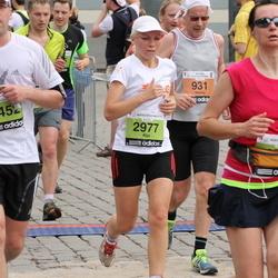 24. Nordea Riia maraton - Aija Kandele (2977), Rolands Irklis (5452)