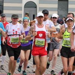 24. Nordea Riia maraton - Māris Kalns (2205), Tomasz Biesiada (2242), Agnieszka Biesiada (2348), Dariusz Drzewiecki (2350), Aleksander Tetzlaff (5611)