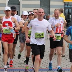 24. Nordea Riia maraton - Māris Kalns (2205), Paweł Młyńczyk (2403), Ainārs Brahmanis (4601)