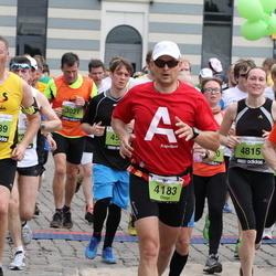 24. Nordea Riia maraton - Aigars Beks (1231), Olegs Nikolajevs (4183), Edgars Zālītis (4589), Rūta Makovska (4815)