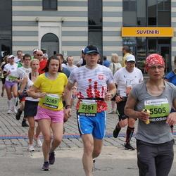 24. Nordea Riia maraton - Adam Wąsiewicz (2351), Linda Rirdance (5389), Natalija Zenina (5505)