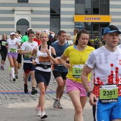 24. Nordea Riia maraton - Laura Kalniņa (1355), Adam Wąsiewicz (2351)