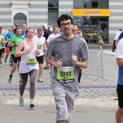 24. Nordea Riia maraton - Alexis Bonsergent (2763), Irina Savicka (3372)