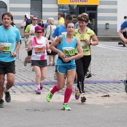 24. Nordea Riia maraton - Tanja Hallenberg (204), Evelīna Parhomenko (2511)