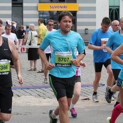 24. Nordea Riia maraton - Evelīna Parhomenko (2511), Romans Triščevs (2707), Jānis Balcers (5366)