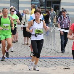 24. Nordea Riia maraton - Aija Lismane (3303), Jūlija Birkenšteine (3632), Ivars Lapše (4260)
