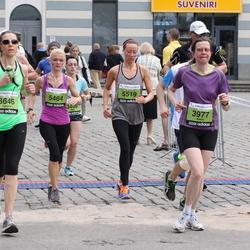 24. Nordea Riia maraton - Kinga Kowal (3346), Baiba Hedegaard Hansen (3977), Agnese Laktiņa (5464), Ilze Začeste Začeste (5519)