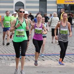 24. Nordea Riia maraton - Camille Wagner (3646), Agnese Laktiņa (5464), Ilze Začeste Začeste (5519)