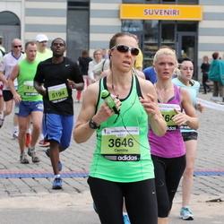 24. Nordea Riia maraton - Camille Wagner (3646), Agnese Laktiņa (5464)