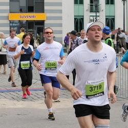 24. Nordea Riia maraton - Artūrs Lezdiņš (3719), Aigars Armanovs (4814), Andris Muraška (5340)