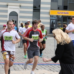 24. Nordea Riia maraton - Genadijs Belajevs (4139), Māris Arājs (4141)
