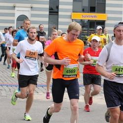 24. Nordea Riia maraton - Adam Stenlund (224), Mārcis Pelcis (4569)
