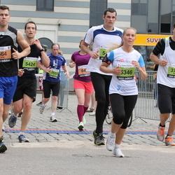24. Nordea Riia maraton - Kim Tuominen (564), Eric Trusiewicz (5424), Jānis Šulcs (5433)