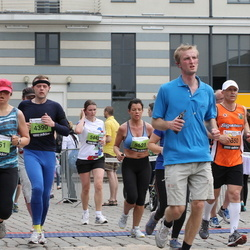 24. Nordea Riia maraton - Aiga Šemeta (3351), Feliks Krasouski (4390), Ieva Cimermane (5443), Sigita Olbačevska (5521)
