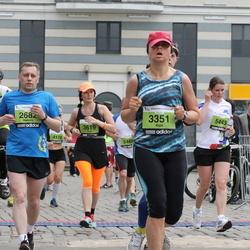24. Nordea Riia maraton - Aleksey Bondarenkov (2682), Aiga Šemeta (3351), Olena Kotukhova (3619), Ieva Cimermane (5443), Sigita Olbačevska (5521)