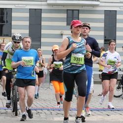 24. Nordea Riia maraton - Aleksey Bondarenkov (2682), Aiga Šemeta (3351), Ieva Cimermane (5443)