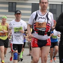 24. Nordea Riia maraton - Aigars Žodziņš (607), Aigars Saulīte (1226), Mats Marschall (2523)