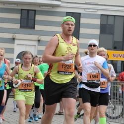 24. Nordea Riia maraton - Aigars Saulīte (1226), Dzintra Skārda (1416), Maria Ossipova (3469)