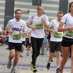 24. Nordea Riia maraton - Aigars Matulis (2932), Terēze Peniķe (2998), Jānis Bogušs (4499), Raitis Armanis (4917)