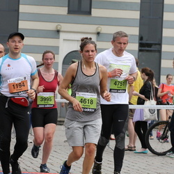 24. Nordea Riia maraton - Ainārs Aizpurietis (1194), Anita Rozenvalde (3995), Agnese Fernāte (4618), Raitis Zvejnieks (4751)