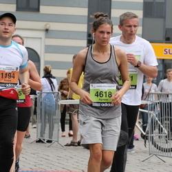 24. Nordea Riia maraton - Ainārs Aizpurietis (1194), Agnese Fernāte (4618)