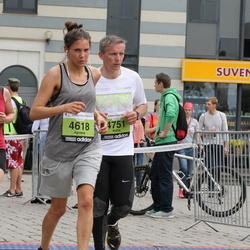 24. Nordea Riia maraton - Agnese Fernāte (4618), Raitis Zvejnieks (4751)