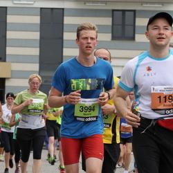 24. Nordea Riia maraton - Ainārs Aizpurietis (1194), Meldris Bartuševics (3994), Marika Grūtupa (4520)