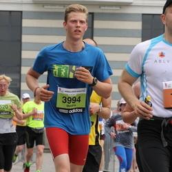 24. Nordea Riia maraton - Ainārs Aizpurietis (1194), Meldris Bartuševics (3994)