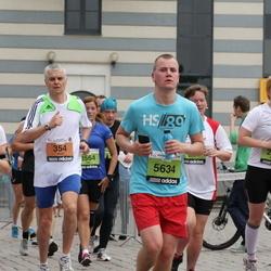 24. Nordea Riia maraton - Aldo Campo (354), Anne Sinkko (534), Anna Orlova (1131), Agnese Fogele (2623)