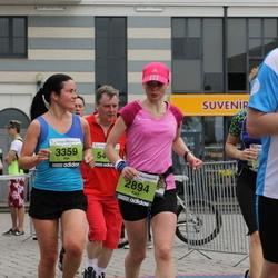 24. Nordea Riia maraton - Kärt Radik (2894), Aija Balode (3359)
