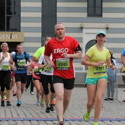 24. Nordea Riia maraton - Anna Panchenko (3387), Ivars Vismanis (4245), Ēvalds Žogla (5337)