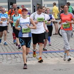 24. Nordea Riia maraton - Kulla Rüütel (3061), Evija Grīnmane (3340), Gatis Pakalniņš (4489)
