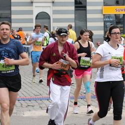 24. Nordea Riia maraton - Roberts Hvesko (588), Anna Viljamaa (3599), Aivars Mozulis (4268)