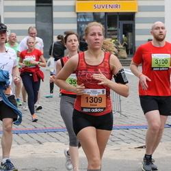 24. Nordea Riia maraton - Inese Breide (1309), Georgijs Ivanovs (3100)