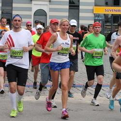 24. Nordea Riia maraton - Agnese Egle (4440), Rihards Pliska (5077), Agris Kalniņš (5581)