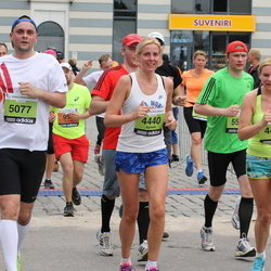 24. Nordea Riia maraton - Agnese Egle (4440), Agate Robežniece (4441), Rihards Pliska (5077)