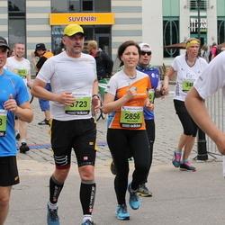 24. Nordea Riia maraton - Skirmante Dapkute (2856), Mindaugas Stukanas-Macius (4568), Adomas Petrulevicius (5723)