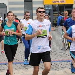 24. Nordea Riia maraton - Agnija Tararuja (4859), Māris Berķis (5339), Jānis Cīrulis (5400)