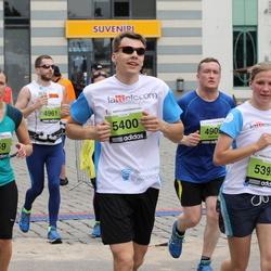 24. Nordea Riia maraton - Agnija Tararuja (4859), Ligija Gaile (5399), Jānis Cīrulis (5400)