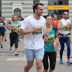 24. Nordea Riia maraton - Agnija Tararuja (4859), Artūrs Cukurs (4860)
