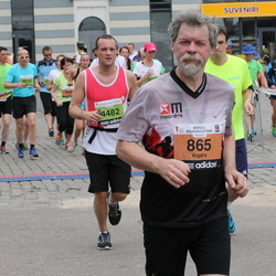 24. Nordea Riia maraton - Aigars Ūdris (865), Jānis Petronis (4482)