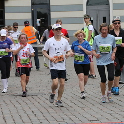 24. Nordea Riia maraton - Tai Moh Huang (1643), Elżbieta Wysłużal (2361), Marianne Ale-Strietman (2613), Elīna Feldhūne (3793)
