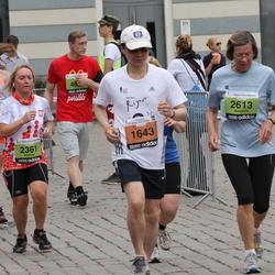 24. Nordea Riia maraton - Tai Moh Huang (1643), Elżbieta Wysłużal (2361), Marianne Ale-Strietman (2613)