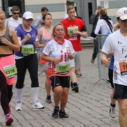 24. Nordea Riia maraton - Tai Moh Huang (1643), Elżbieta Wysłużal (2361), Ilze Zvīdriņa (3310), Krista Plisko (4318)