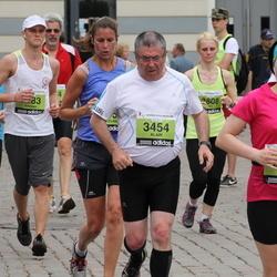 24. Nordea Riia maraton - Agnese Bahmane (2854), Alain Le Brech (3454)