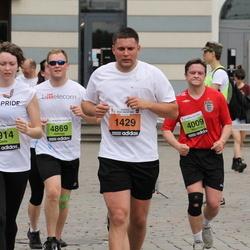 24. Nordea Riia maraton - Guntis Lavrinovičs (1429), Aleksejs Ērglis (4869), Andris Losāns (7914)