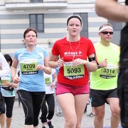 24. Nordea Riia maraton - Marks Aizsils (3314), Agnese Puzarele (4709), Alise Aļeksejeva (5093)