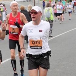 24. Nordea Riia maraton - Alf B. Dahl (51), Rihards Vālands (1274)