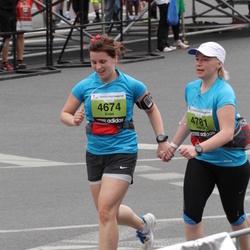 24. Nordea Riia maraton - Evisa Krumholca (4674), Ingrīda Jansone (4781)